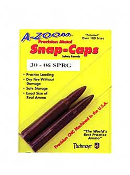 AZOOM SNAP CAPS 30-06SPG 2/PK
