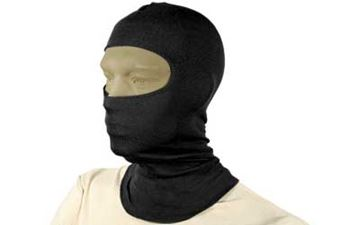 "Picture of BH BALACLAVA 3OZ 18"" NOMEX BLK"