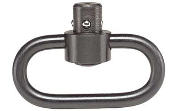 CAA QD PUSH BUTTON SLING SWIVEL BLK
