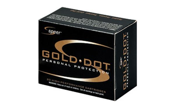 Picture of SPR GOLD DOT 9MM 124GR HP 20/500