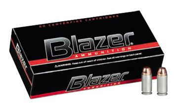 Picture of CCI/BLAZER 45 COLT 200GR JHP 50/1000