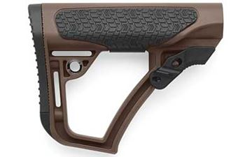 DD COLLAPSIBLE MIL-SPEC STOCK BRN