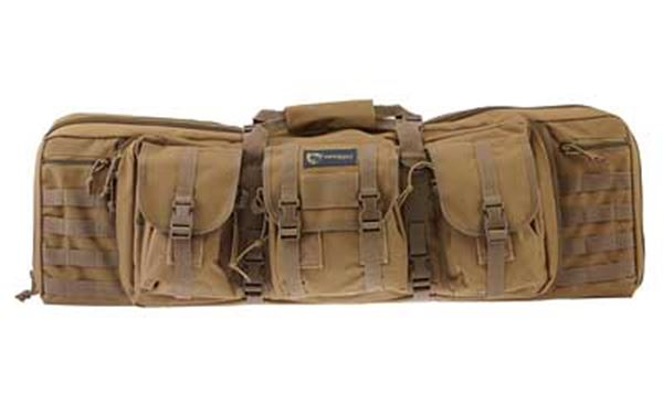 "DRAGO GEAR 36"" DOUBLE GUN CASE TAN"