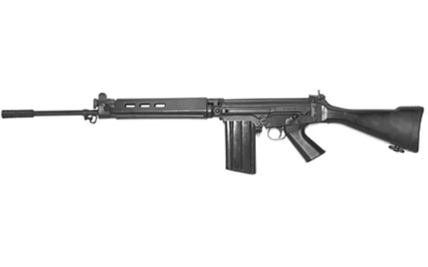 """DS ARMS SA58 308WIN 21"""" 20RD BLK"""