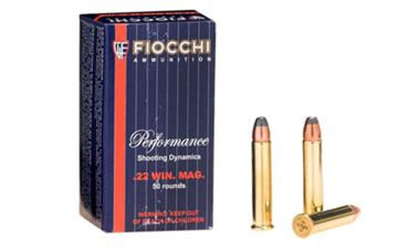 Picture of FIOCCHI 22WMR 40GR JHP 50/2000