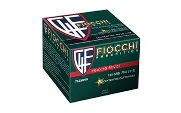FIOCCHI 7.62X39 FMJ 124GR 20/1000