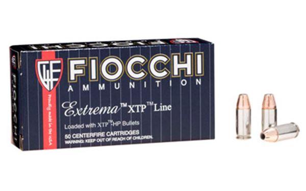 FIOCCHI 9MM 124GR XTP 25/500