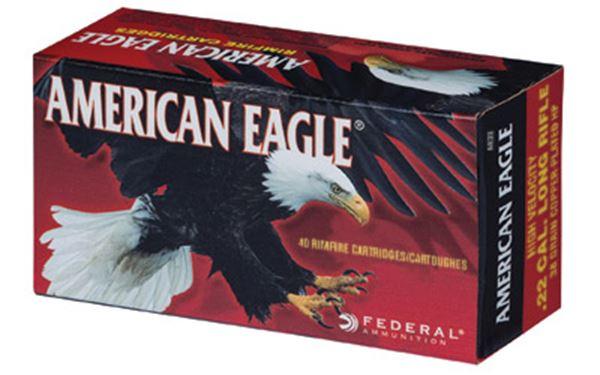 FED AM EAGLE 22LR HV HP 40/4000