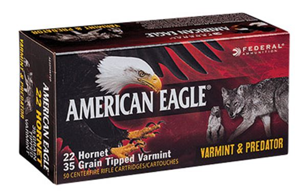 FED AM EAGLE V&P 22HRN 20GR 50/500