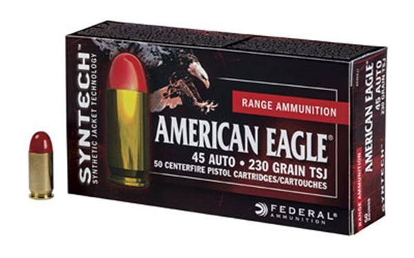 Picture of FED AM EAGLE 45ACP 230GR TSJ 50/500