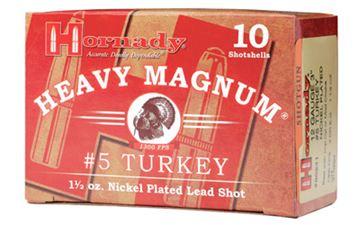 """HRNDY HM TURKEY 12GA 3"""" #5 10/100"""