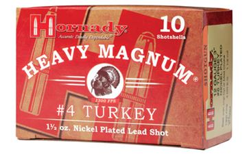 """HRNDY HM TURKEY 12GA 3"""" #4 10/100"""