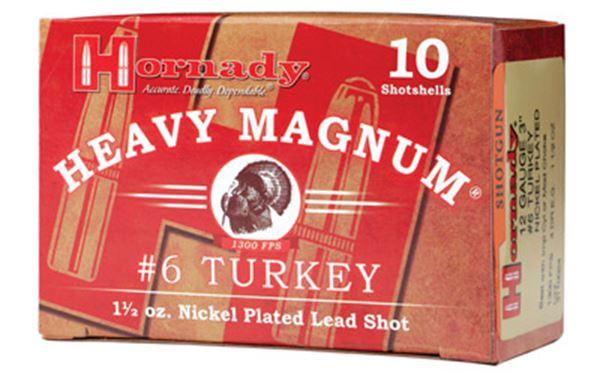 """HRNDY HM TURKEY 12GA 3"""" #6 10/100"""