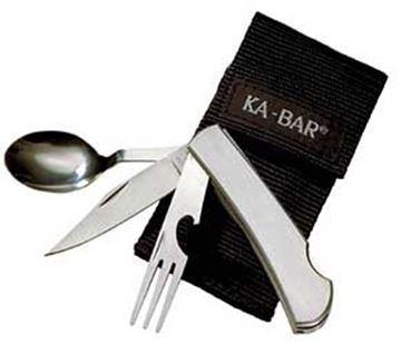 KBAR HOBO FORK/KNIFE/SPOON SS BX