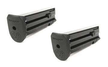 MAG RUGER SR22 22LR 10RD BLK W/EX 2P