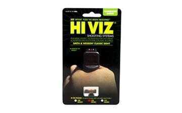 HIVIZ S&W REV W/DX STYLE FRNT RED