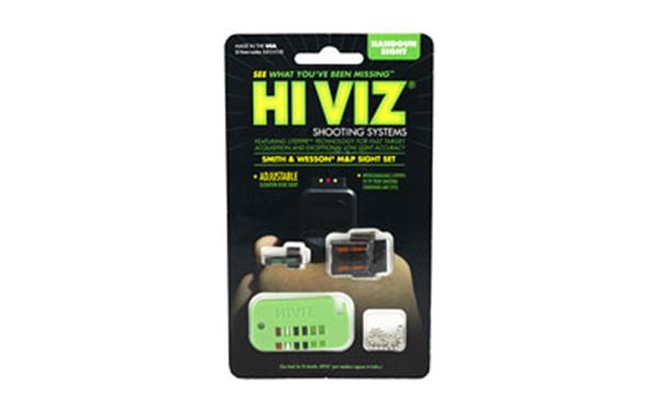 HIVIZ S&W M&P INTERCHANGE SIGHT SET