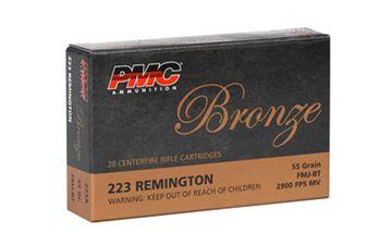 PMC BRNZ 223REM 55GR FMJ 20/1000