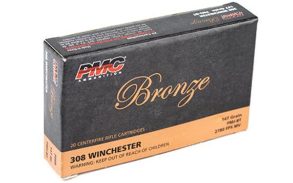 PMC BRNZ 308WIN 147GR FMJ 20/500