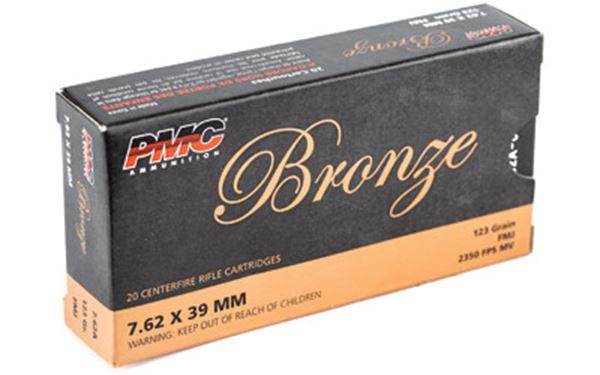 PMC BRNZ 7.62X39 123GR FMJ 20/500