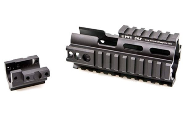 PWS SRX SCAR RAIL EXTENSION BLK