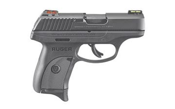 "RUGER LC9S 9MM 3.1"" BL 7RD HIVIZ"