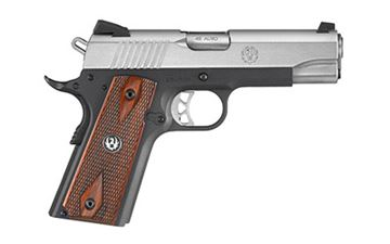 """RUGER SR1911 45ACP 4.25"""" STS/ANOD 7R"""
