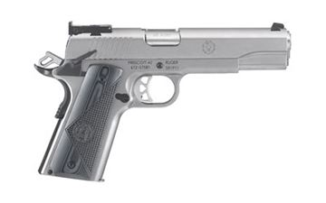 """RUGER SR1911 TRGT 45ACP 5"""" STS 8RD"""