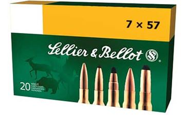 Picture of S&B 7X57 140GR FMJ 20/400