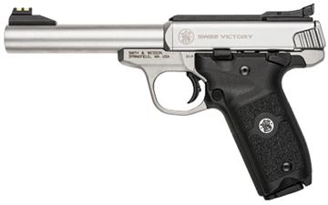"""S&W VICTORY 22LR 10RD 5.5"""" STS AFOS"""