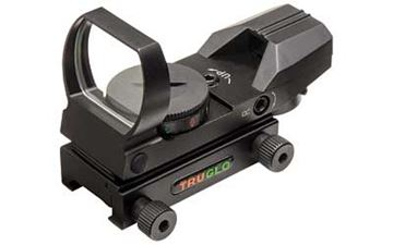 Picture of TRUGLO RED DOT OPEN 4 RETICLE BLACK