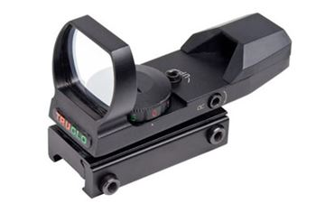 Picture of TRUGLO OPEN RED DOT DUAL COLOR BLACK