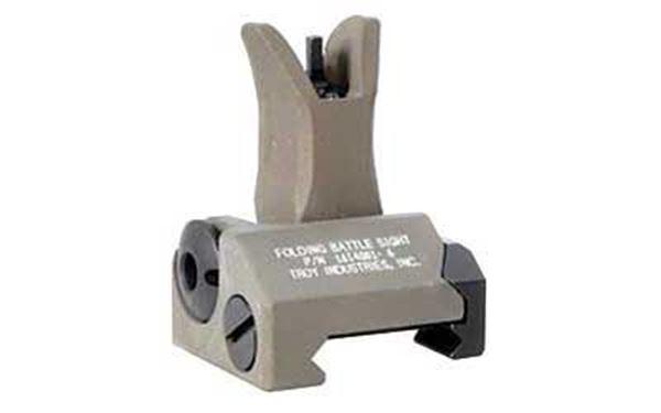 TROY FLDNG M4 FRONT BATTLE SIGHT FDE