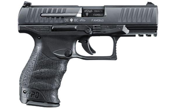 """WAL PPQ M2 9MM 4"""" 15RD BLK POL FS"""