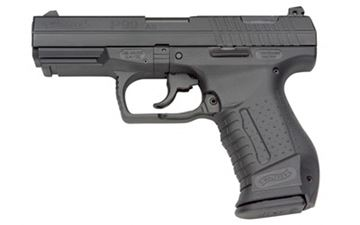 """WAL P99AS 9MM 4"""" BLK 2-15RD"""