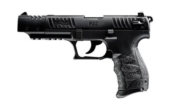 """WAL P22 22LR 5"""" BLK 1-10RD"""