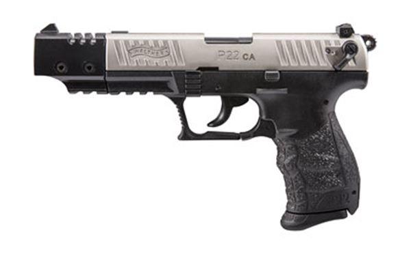 "WAL P22 22LR 5"" NICKEL TRG 1-10RD CA"