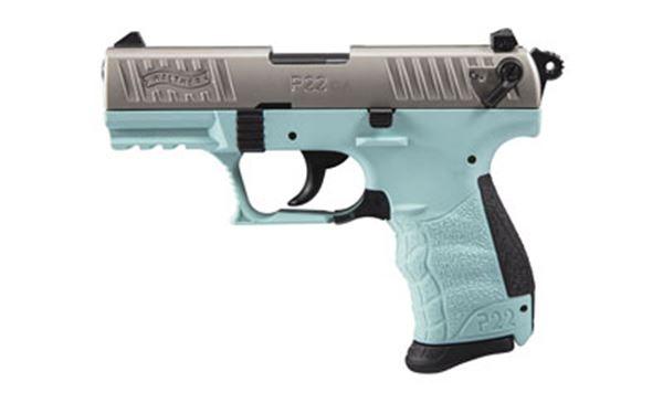 "WAL P22 22LR 3.4"" ANGEL BLUE 10RD CA"