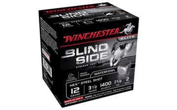 "WIN BLIND SIDE 12GA 3.5"" #2 25/250"