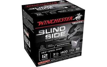 "WIN BLIND SIDE 12GA 3.5"" BB 25/250"
