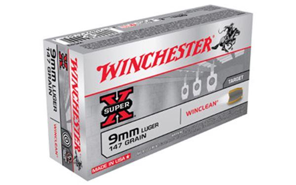 WIN SPRX WINCLEAN 9MM 147GR 50/500