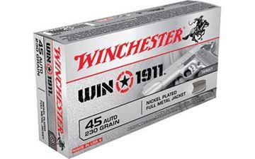 WIN 1911 45ACP 230GR FMJ 50/500