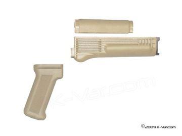 Desert Sand Handguard Set/Pistol  Grip US Made