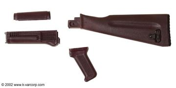 AKPSL ~ Four Piece Plum US Stock AK-47/74 Set