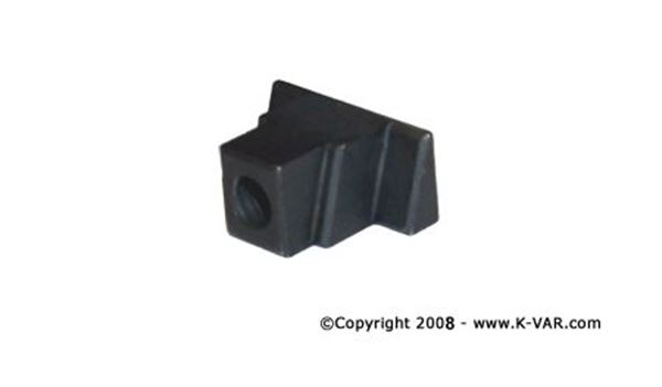 Threaded Block, Nut for Attaching Pistol Grip