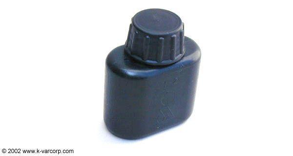 Oil Bottle Poly Black Bulgarian