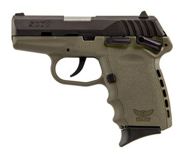 Picture of SCCY CPX-1 CBDE 9 mm Pistol (Flat Dark Earth)
