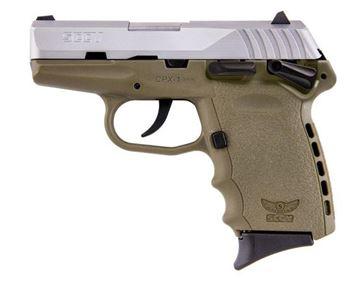 SCCY CPX-1 TTDE 9 mm Pistol (Flat Dark Earth)