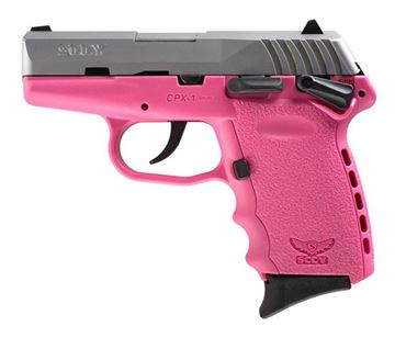 SCCY CPX-1 TT Pink Pistol