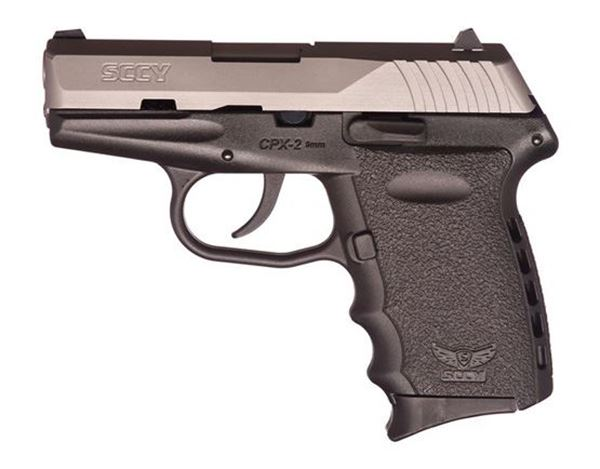 SCCY CPX-2 TT 9 mm Subcompact Pistol CPX2TT